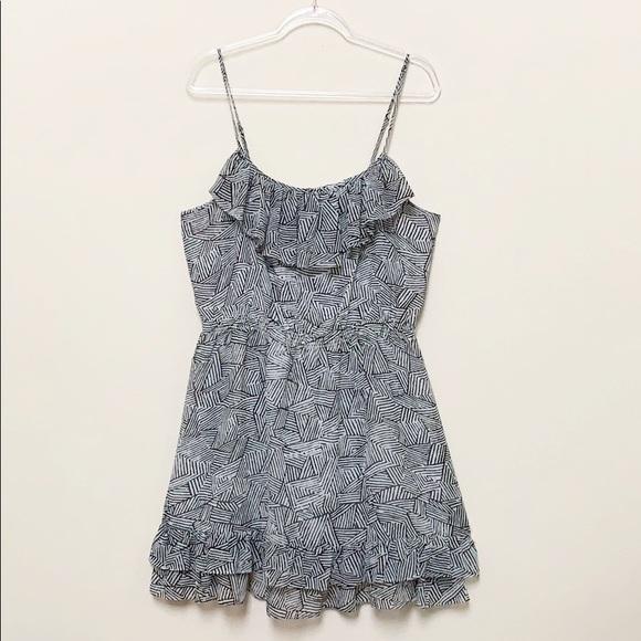 Moda International Dresses & Skirts - Moda International Ruffle Trim Dress Size XL